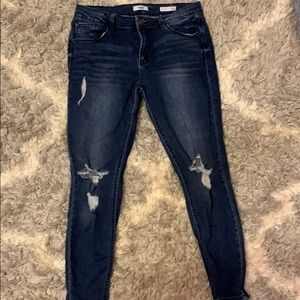Kensie dark wash jeans
